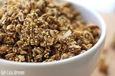 Pumpkin Spice Granola Gluten Free - Vegan Girl Eats Greens