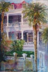 Charleston palmetto art