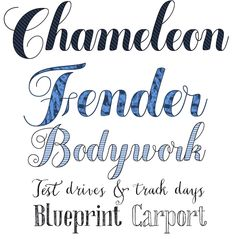 Chamaleon My Fonts Rising Stars - would work nicely with SCAL or Silhouette