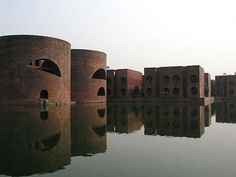 """Louis Kahn, Architect: National Assembly Building, Bangladesh  """"What was has always been. What is has always been. What will be has always been."""" (Louis I. Kahn in Tyng, 1984:127)."""