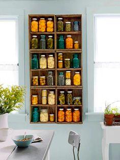 Reciclar tarros de vidrio de conservas para conservas