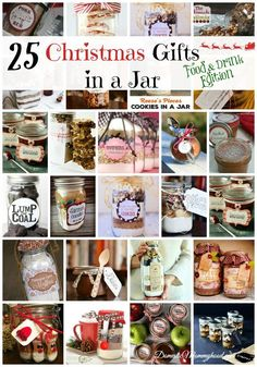 DIY Gifts in a Jar t