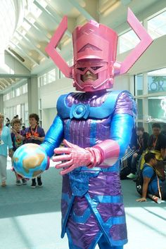 Galactus cosplay at Comic-Con