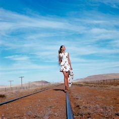 From the archive: Sixties supermodel Veruschka in Texas, circa 1968 #vogue365