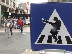Monty Python's Silly Walk comes to Ottawa's Sparks Street