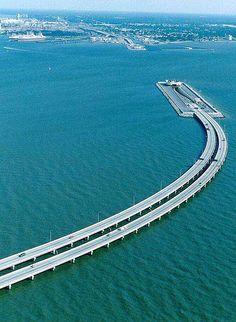 bridge becoming tunnel