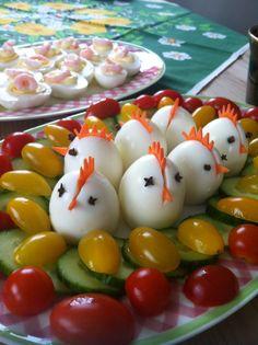 Easter Eggs  little chicks