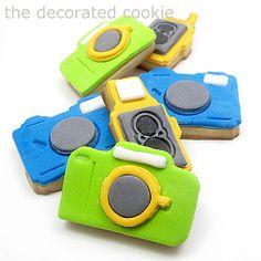 super cool camera cookie cutters
