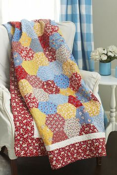 ~ Big on Tradition ~ Quilts Made of 1930's Reproduction Fabrics