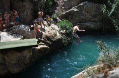 Watervallen van Algar, Benidorm - via @travelvalley