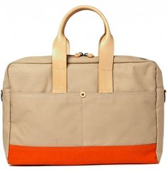 levi's made & crafted canvas bag.