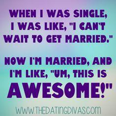Yep!!!  #marriedlife