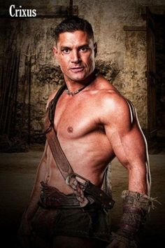 Crixus- gorgeous rival.
