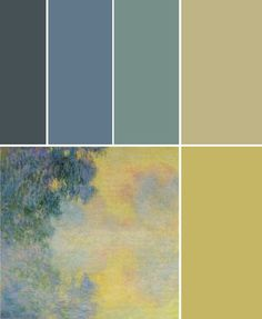 maybe good color palate for room?
