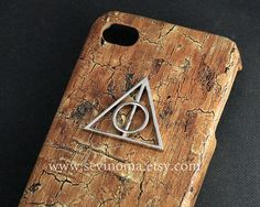 Deathly Hallows harry potter Iphone Case Iphone 4 Case by Sevinoma, $9.99