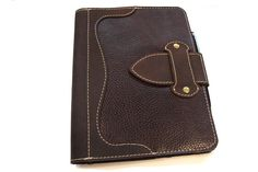Leather Notebook Holder with A5 Wirebound by PinegroveLeather, £59.00