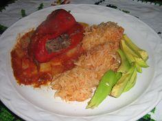 ¿Gusta Usted? Comida casera mexicana: RECETA DE CHILES RELLENOS DE CARNE DE RES DESHEBRADA