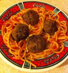 Guy Fieri Spaghetti and Meatballs