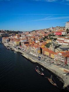 Porto,  Douro River, Ribeira, Rio Douro, Portugal