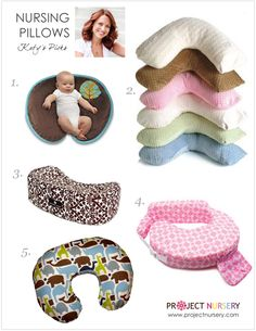 {Project Nursery Picks for Nursing Pillows} - includes a comparison! #newmom #maternity #nursing