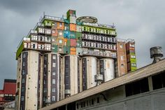These Crazy South African Dorms Are Made From Shipping Containers And Old Silos | Co.Exist | ideas + impact