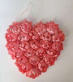 paper flower heart