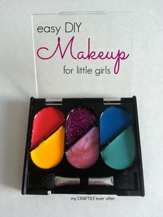 easy DIY makeup for little girls from My Craftily Ever After - BrassyApple.com #dressup