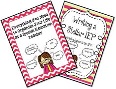 Everything You Need to Organize Your Life As a Special Education Teacher & Writing A Stellar IEP BUNDLE from Mrs. P's Special Education Classroom on TeachersNotebook.com -  (40 pages)  - Everything You Need to Organize Your Life As a Special Education Teacher & Writing A Stellar IEP BUNDLE