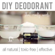 DIY Deodorant that really works!