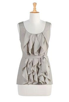 blouse inspiration. - eShakti - Shop Women's designer fashion dresses, tops | $44