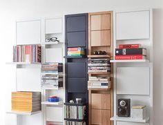 Klaffi folding shelves.