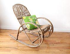 Franco Albini Style Italian Modern Rocking Chair - GallivantingGirls
