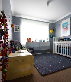 Project Nursery - Caleb's room from doorway 3 image stitch