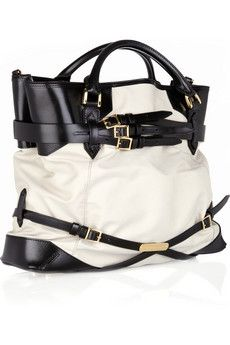 Beautiful black and white Burberry