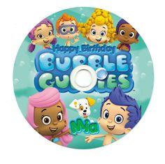 World of Pinatas - Bubble Guppies Personalized CDR (Set of 6), $12.99 (http://www.worldofpinatas.com/bubble-guppies-personalized-cdr/)
