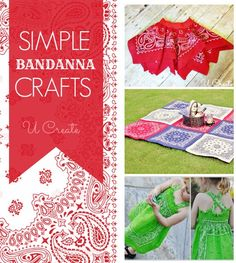 Tons of simple bandanna tutorials!!