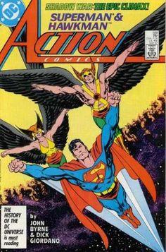 Superman - Hawkman - John Byrne