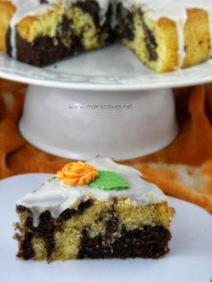 Bizcocho Marmolado de Chocolate y Naranja | Mari's Cakes