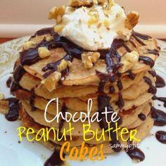 Chocolate Peanut Butter Cakes