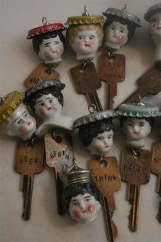 Frozen Charlotte Doll Keys