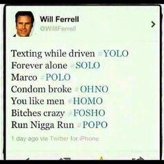 Hahahaha so funny