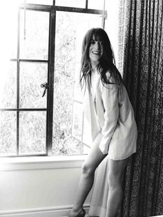 Charlotte Gainsbourg By Kurt Iswarienko