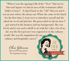 Aquitaine Boston, Aquitaine Chestnut Hill, and Aquitaine Dedham are all participating in Julia Child Restaurant Week, August 7-15