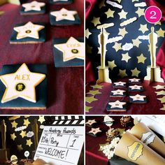 Oscar Party forests, oscar parties, idea collect, enchant forest, first birthdays, drinks, parti idea, babi shower, baby showers