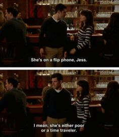 jess new girl quotes, laugh, newgirl, flip phone, new girl quotes schmidt, giggl, funni, new girl schmidt quotes, entertain
