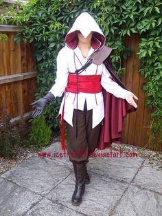 Female Ezio Cosplay | Ezio Assassin's Creed 2 Costume - Assassin's Creed Brotherhood, 1 ...
