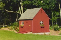 Our 12'x 16' Even Pitched Garden Shed.  www.countrycarpenters.com