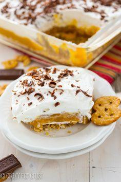 No Bake Pumpkin Dessert - the best pumpkin lush!