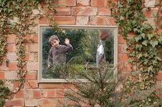 Add a mirror to a child's garden