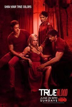 New True Blood Posters Show Off Season Four's True Colors - UGO.com